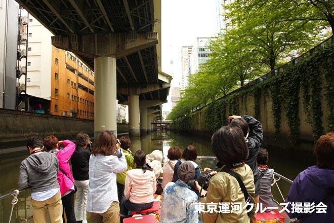 東京運河クルーズ撮影会